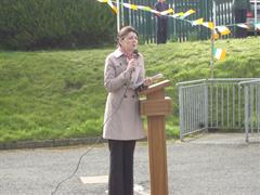 Raising 1916 Commemorative Flag Ceremony